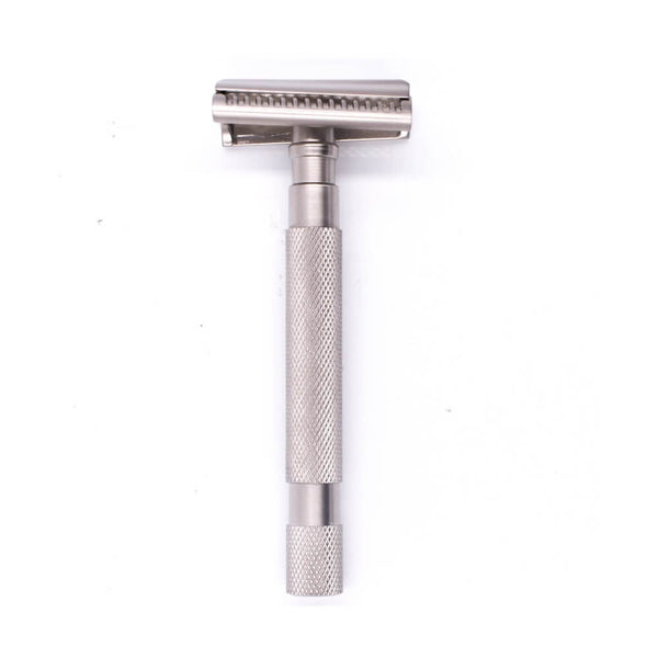 Parker 55SL-SC Semi Slant Safety Razor - Satin Chrome-Parker-ItalianBarber