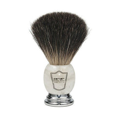 Parker 100% Premium Black Badger Bristle Shaving Brush - Parker - ItalianBarber.com