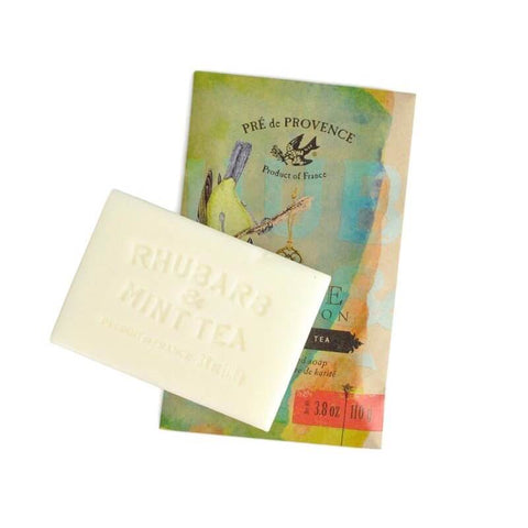 Pre De Provence Private Collection Bar Soap - Rhubarb & Mint Tea-Pre De Provence-ItalianBarber