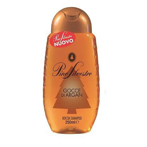Pino Silvestre Shampoo And Shower Gel - Gocce Di Argan-Pino Silvestre-ItalianBarber