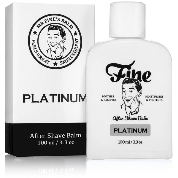 Fine Alcohol-Free Aftershave Balm - Platinum-Fine Accoutrements-ItalianBarber