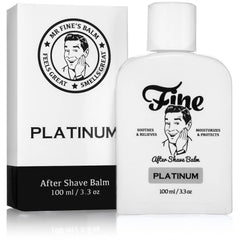 Fine Alcohol-Free Aftershave Balm - Platinum