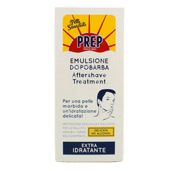 Prep Extra Hydrating Aftershave Balm 75 ml Tube - Alcohol Free - Prep - ItalianBarber.com