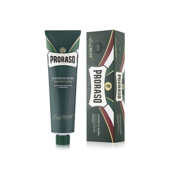 (Green Tube) Proraso Shave Cream - Menthol and Eucalyptus - Cooling and Refreshing-Proraso-ItalianBarber