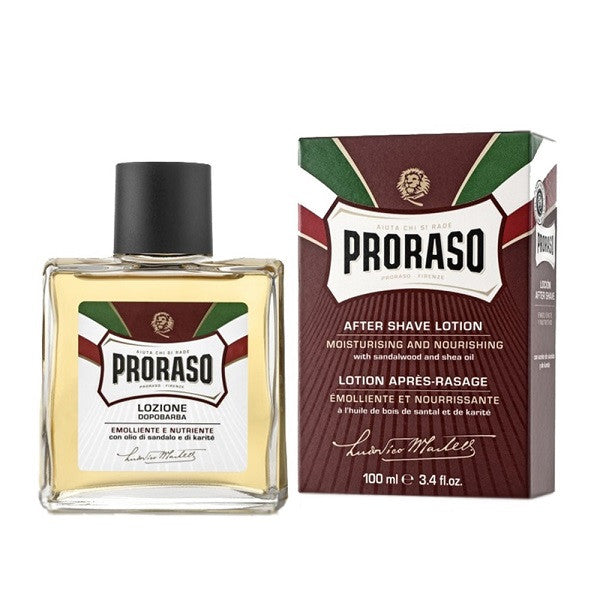 (Red Splash) Proraso Sandalwood Aftershave - Splash-Proraso-ItalianBarber