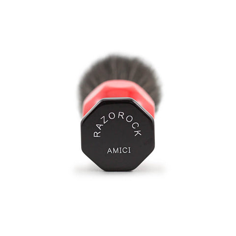 RazoRock Amici Synthetic Shaving Brush - with Noir Plissoft Knot-RazoRock-ItalianBarber