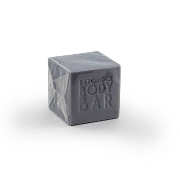 RazoRock Artisan Bath Bar Soap Cube - XXX with Charcoal-RazoRock-ItalianBarber
