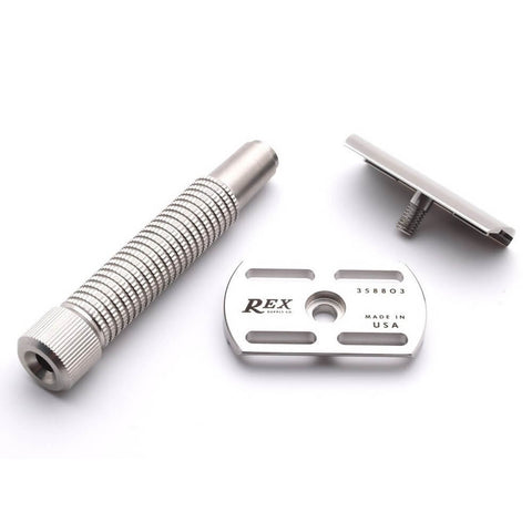 Rex Supply Co. Envoy Stainless Steel Double Edge Safety Razor-Rex Supply Co.-ItalianBarber
