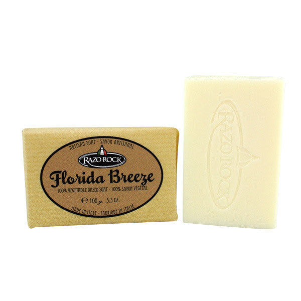 RazoRock Artisan Bar Soap - Florida Breeze - RazoRock - ItalianBarber.com