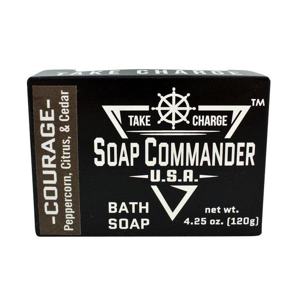 Soap Commander Bath Bar Soap - Courage-Soap Commander-ItalianBarber