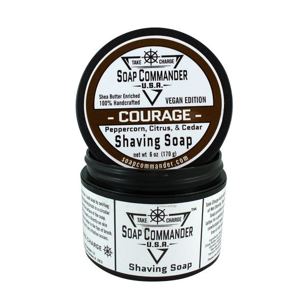 Soap Commander Shaving Soap - Courage-Soap Commander-ItalianBarber