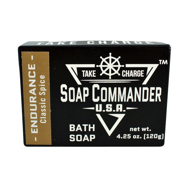 Soap Commander Bath Bar Soap - Endurance-Soap Commander-ItalianBarber