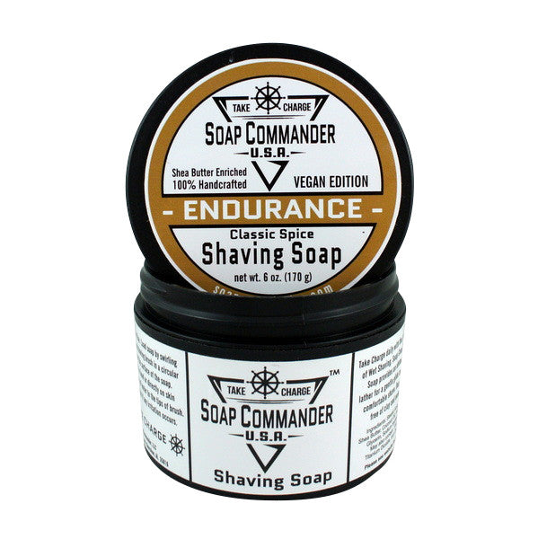 Soap Commander Shaving Soap - Endurance - Soap Commander - ItalianBarber.com