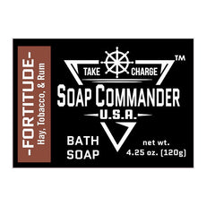Soap Commander Bath Bar Soap - Fortitude - Soap Commander - ItalianBarber.com