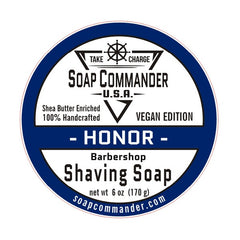 Soap Commander Shaving Soap - Honor - Soap Commander - ItalianBarber.com