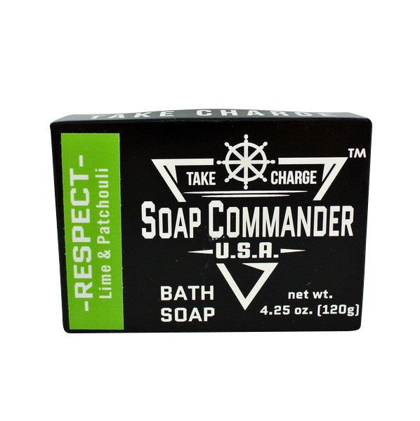 Soap Commander Bath Bar Soap - Respect-Soap Commander-ItalianBarber