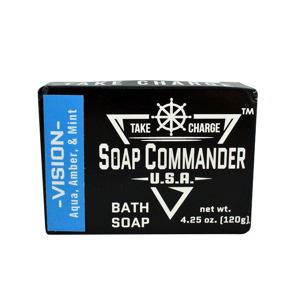 Soap Commander Bath Bar Soap - Vision-Soap Commander-ItalianBarber