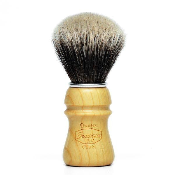 Semogue Owners Club 2 Band Badger Shaving Brush, Ash Wood-Semogue-ItalianBarber
