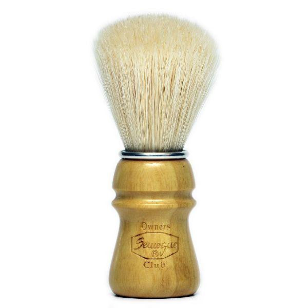 Semogue Owners Club Boar Bristle Shaving Brush, Ash Wood-Semogue-ItalianBarber