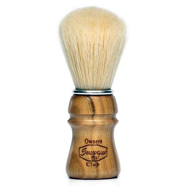 Semogue Owners Club Boar Bristle Shaving Brush, Cherry Wood-Semogue-ItalianBarber