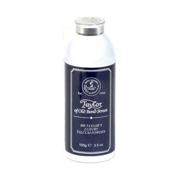 Taylor of Old Bond Street Mr. Taylor Talcum Powder 100g-Taylor of Old Bond Street-ItalianBarber