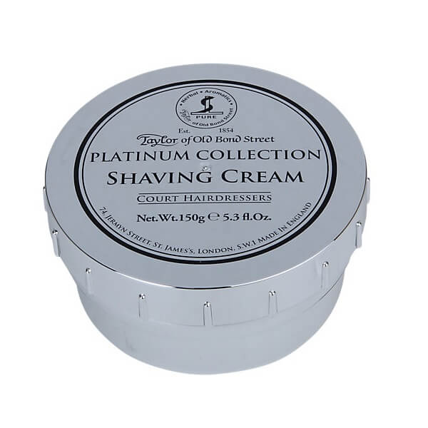 Taylor of Old Bond Street Platinum Collection Shaving Cream Bowl-Taylor of Old Bond Street-ItalianBarber