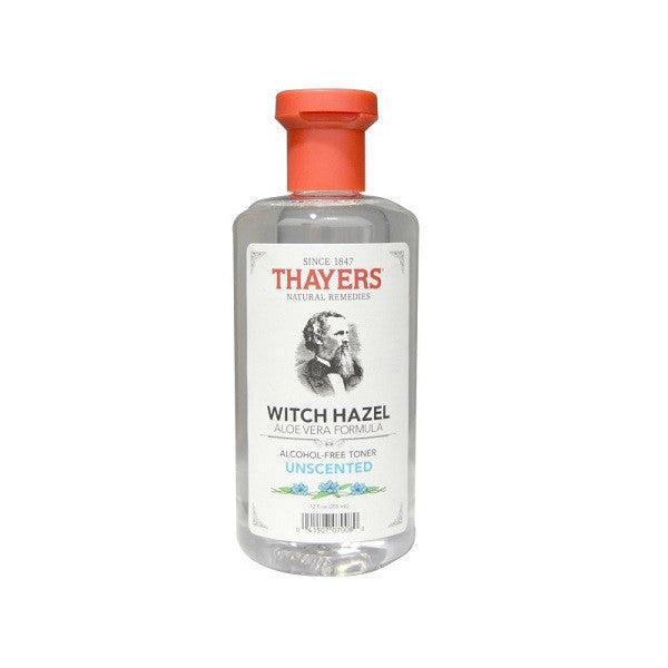 Thayers Unscented Witch Hazel With Aloe Vera Alcohol-Free Toner - Thayers - ItalianBarber.com