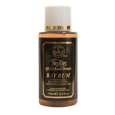 Taylor of Old Bond Street Aftershave Lotion, Bay Rum 150ml - Taylor of Old Bond Street - ItalianBarber.com