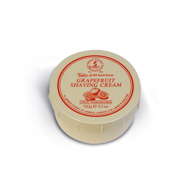 Taylor of Old Bond Street Shaving Cream Bowl, Grapefruit 150g-Taylor of Old Bond Street-ItalianBarber