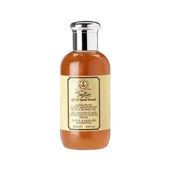 Taylor of Old Bond Street Sandalwood Bath & Shower Gel 200ml - Taylor of Old Bond Street - ItalianBarber.com