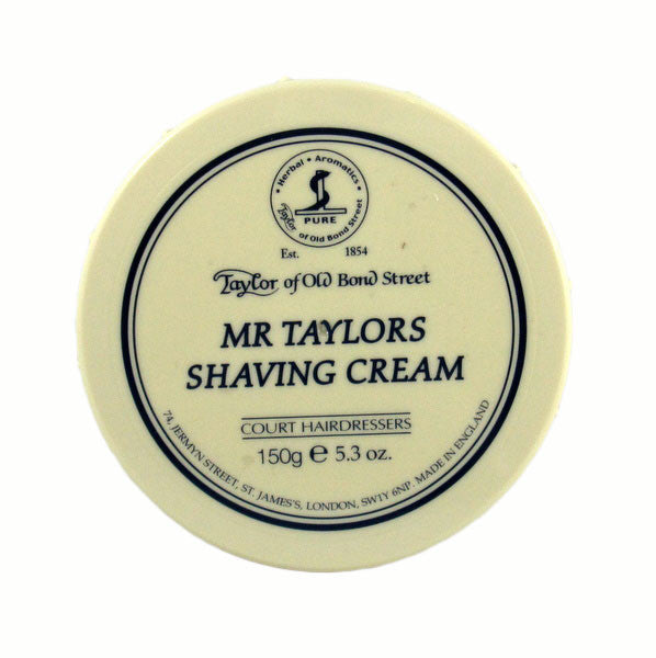 Taylor of Old Bond Street Shaving Cream Bowl, Mr. Taylor 150g-Taylor of Old Bond Street-ItalianBarber