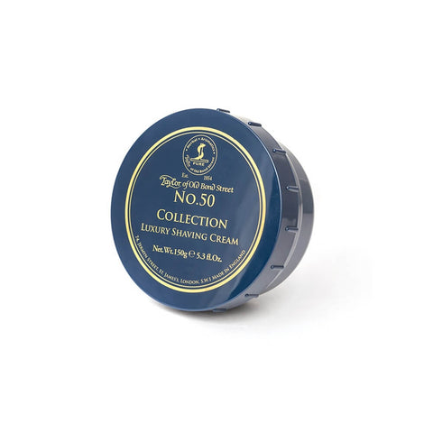 Taylor of Old Bond Street Shaving Cream Bowl, No. 50 Collection 150g-Taylor of Old Bond Street-ItalianBarber