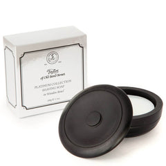 Taylor of Old Bond Street Platinum Collection Shaving Soap And Wood Bowl-Taylor of Old Bond Street-ItalianBarber
