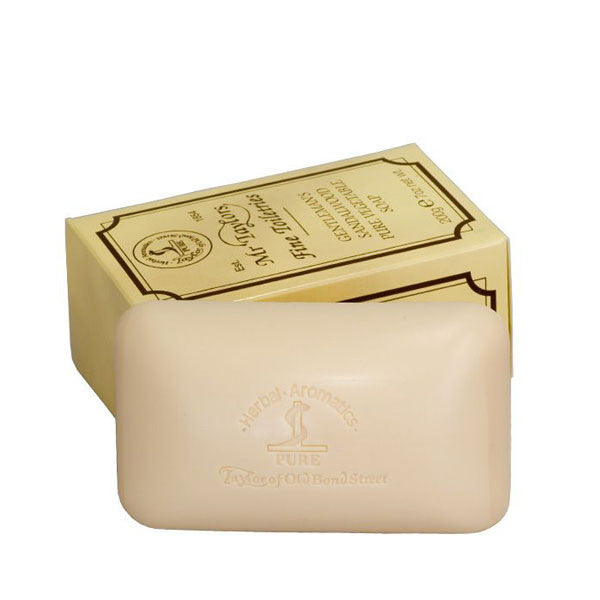 Taylor of Old Bond Street Sandalwood Bath Soap 200g-Taylor of Old Bond Street-ItalianBarber