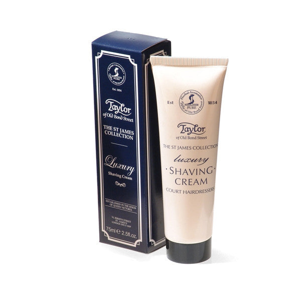 Taylor of Old Bond Street Shaving Cream Tube, St. James 75ml-Taylor of Old Bond Street-ItalianBarber