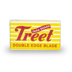 10 Treet Dura Sharp Double Edge Blades, 1 pack of 10 (10 blades)-Treet-ItalianBarber