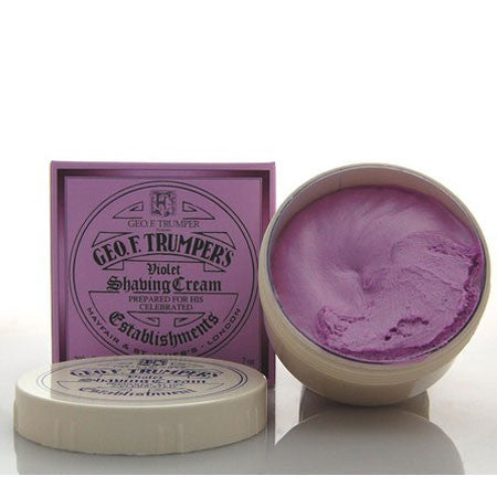 Geo F Trumper Violet Soft Shaving Cream Screw Thread Pot 200g-Geo F Trumper-ItalianBarber