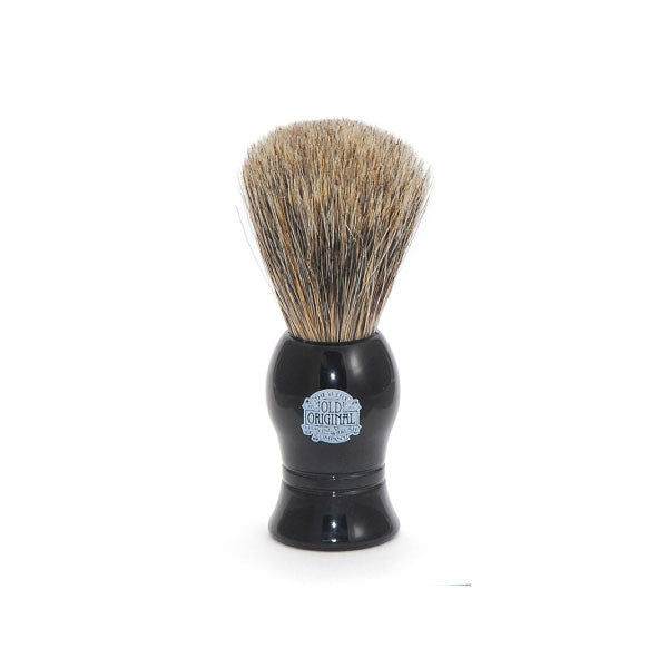 Vulfix 1000A Pure Badger Shaving Brush - Ebony-Vulfix-ItalianBarber