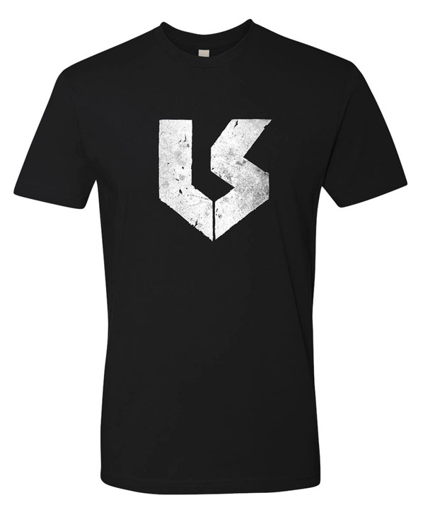 T-Shirt - LS Logo - Black