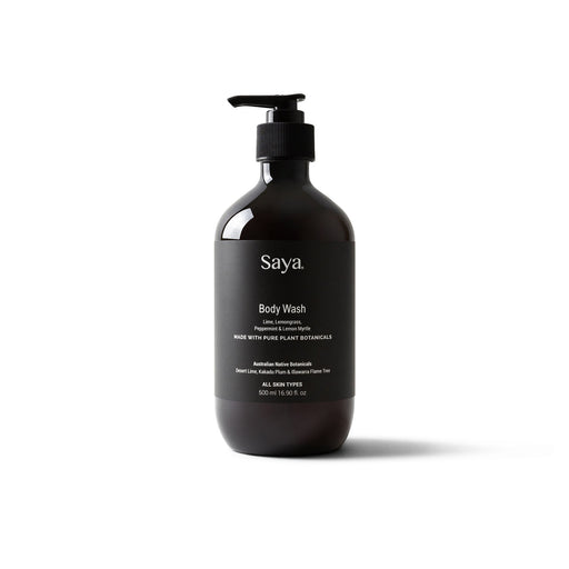 Saya Lime + Lemongrass Body Wash