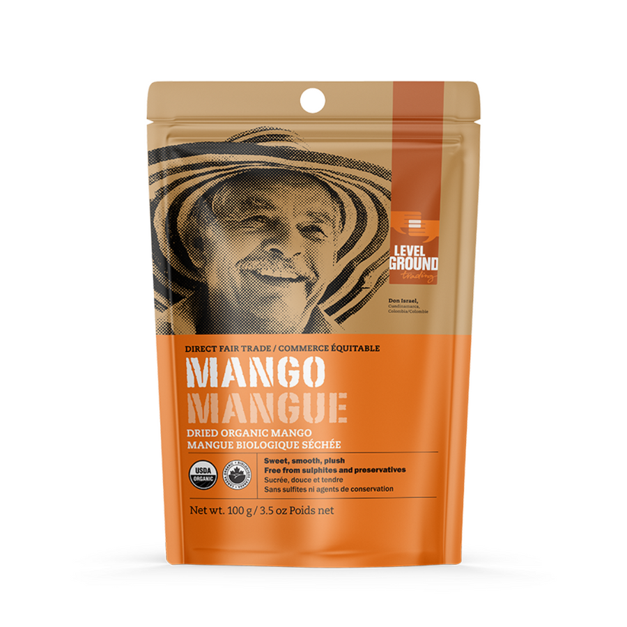 Dried Organic Mango - Level Ground