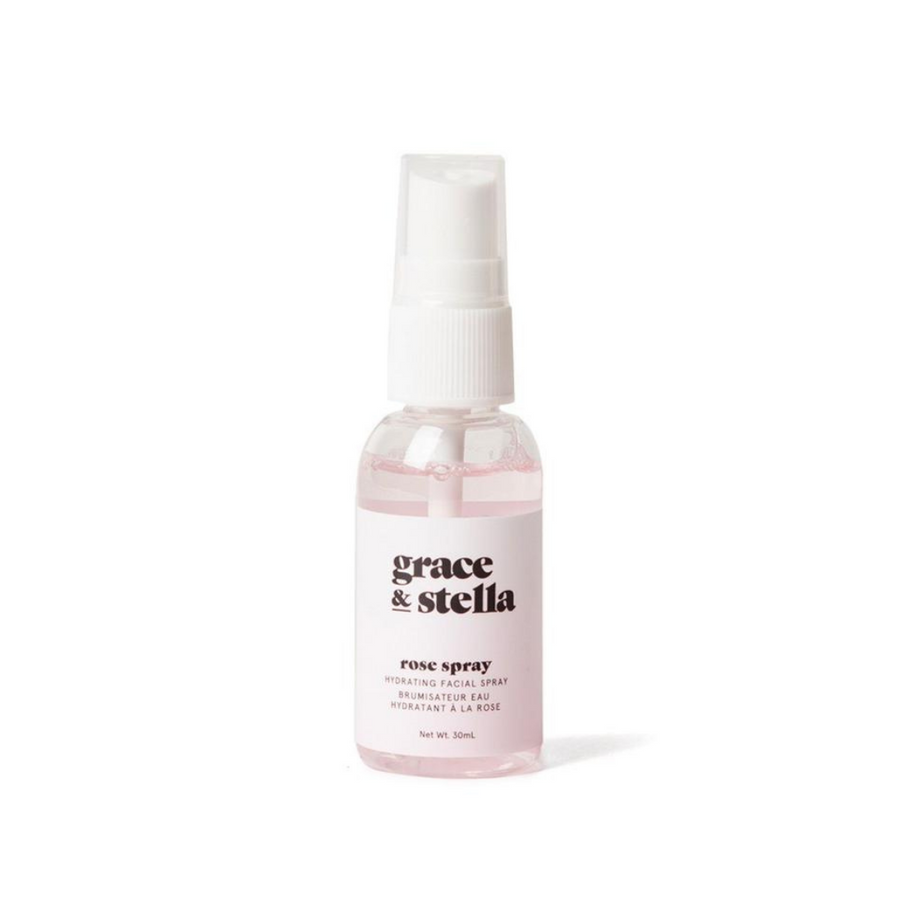 Rose Water Facial Mist (30ml) - Grace & Stella