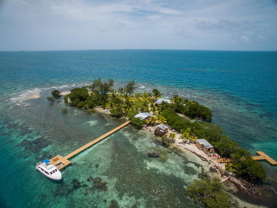 This private island will cure even the worst case of winter blues...