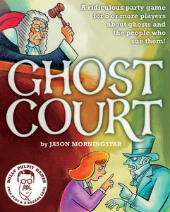 Ghost Court: Role Playing Party Game