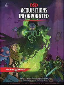 Dungeons and Dragons RPG D&D 5E Acquisitions Incorporated