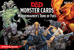 Dungeons and Dragons RPG D&D Monster Cards: Mordenkainen`s Tome of Foes