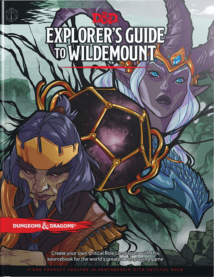 Dungeons and Dragons RPG D&D 5E Explorer`s Guide to Wildemount