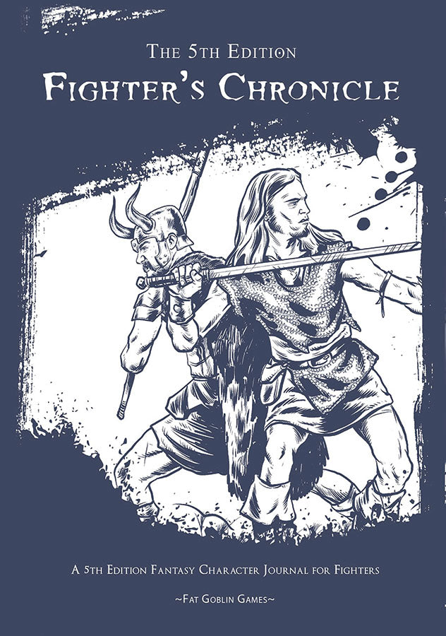 Dungeons and Dragons RPG D&D 5E Fighter's Chronicle