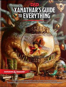 Dungeons and Dragons RPG D&D 5E Xanathar's Guide to Everything