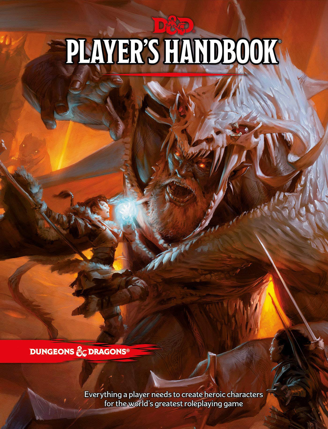 Dungeons and Dragons RPG D&D 5E Player's Handbook